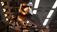 Last Jedi star worried Phasma won't return to Star Wars