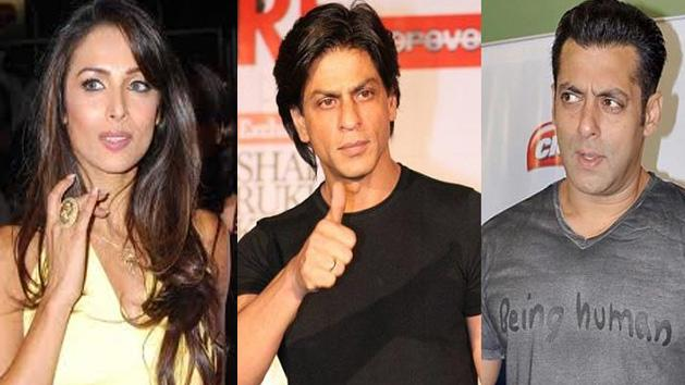 Malaika Refuses To Comment About Salman and Shahrukh