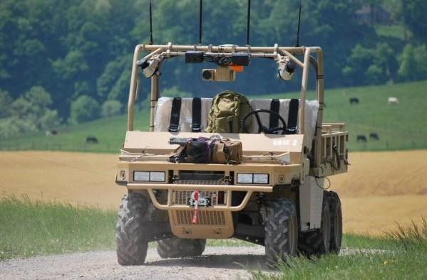 Marines field autonomous support vehicles based on winning robot design (video)