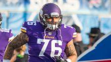 Vikings release offensive lineman Aviante Collins
