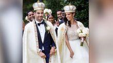 Se casa con un príncipe etíope que conoció en un bar