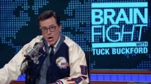Colbert Shows No Signs of Trump Exhaustion