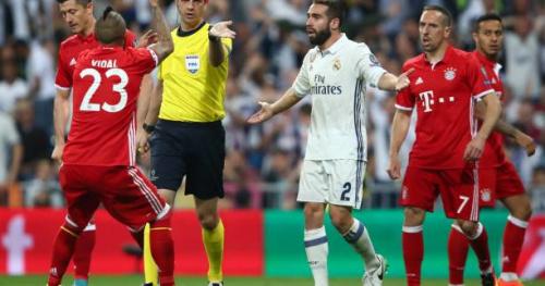 Foot - Real-Bayern - «Scandale», «vol», «farce», la presse européenne fustige l'arbitrage de Real Madrid-Bayern Munich