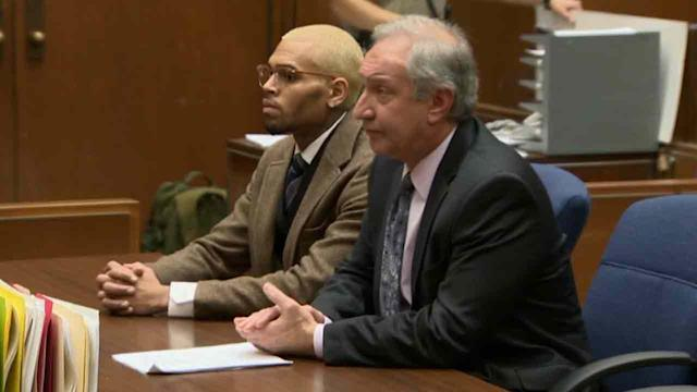 Chris Brown's probation revoked over DC arrest