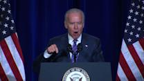 """Biden honors MLK: """"Fighting the fight again"""" on voting rights"""