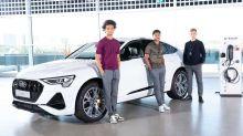 Audi: Elektroautos für den FC Bayern München