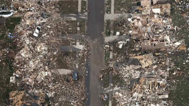 Tornado cleanup massive, overwhelming
