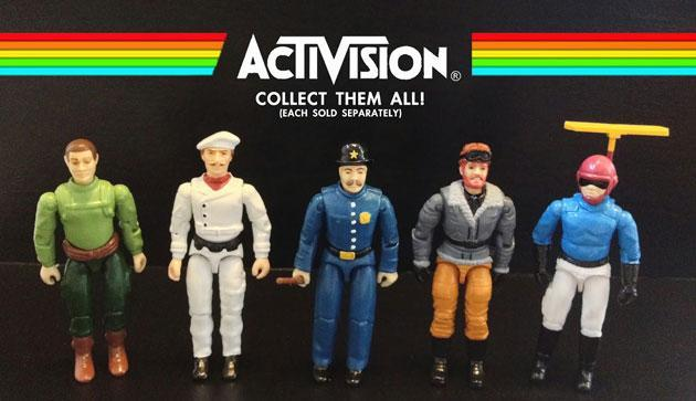Old G.I. Joes get reassembled to create action figures for classic Activision titles