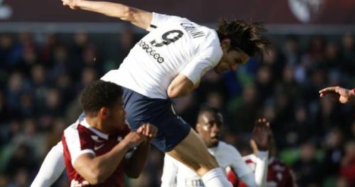 Foot - L1 - PSG - PSG : Edinson Cavani établit son record de buts sur une saison de Championnat à Metz