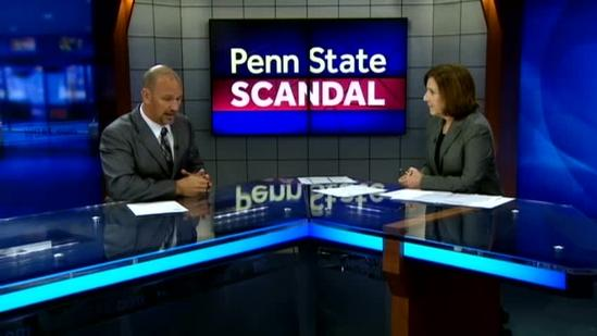 Attorney discusses charges filed against former Penn State president