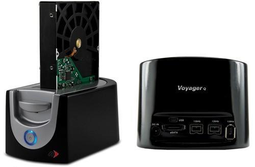 NewerTech's Voyager Q converts SATA HDDs into hot-swappable external drives