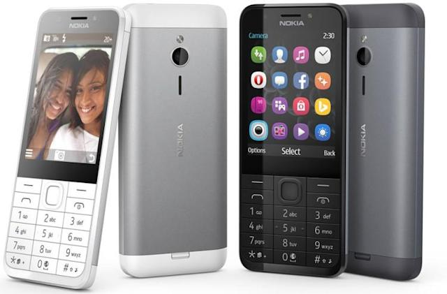 Microsoft rolls out a basic phone that's big on selfies