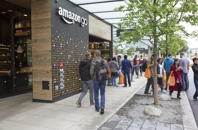Amazon Go is the inevitable evolution of supermarket retail