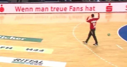 WTF - Handball - Un but contre son camp improbable en première division allemande