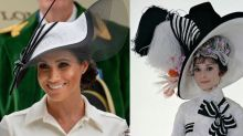 12 Times Meghan Markle Channeled Audrey Hepburn's Style