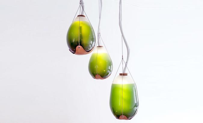 Six green designs powered by algae