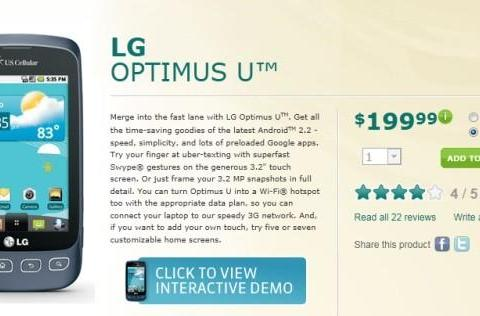 US Cellular introduces Android to its prepaid realm, offers LG's Optimus U and Apex sans-contract