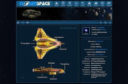 Kickstarter project aims to revamp galactic sandbox Chosen Space