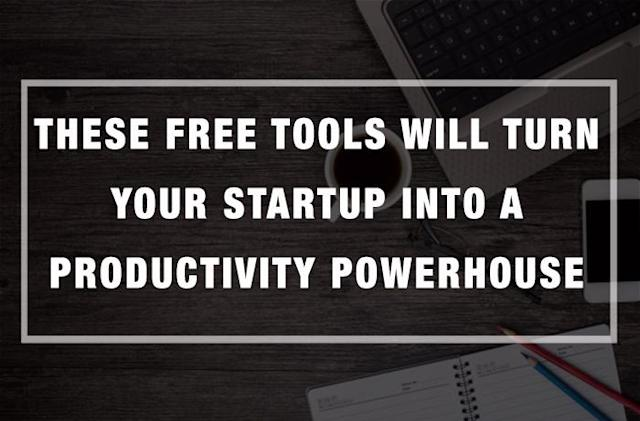 These Free Tools will Turn your Startup into a Productivity Powerhouse