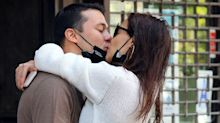"""Katie Holmes' Relationship With Emilio Vittolo Reportedly Made His Mom """"Furious"""""""