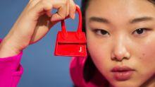 Designer debuts the smallest handbag we've ever seen at Fashion Week