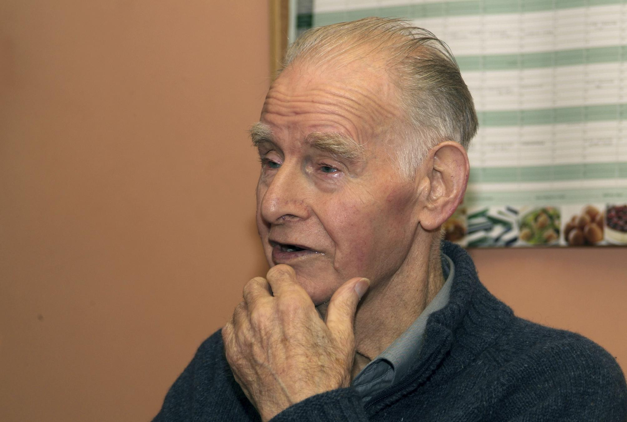In this image released by Am Baile - High Life Highland on Thursday Oct. 4. 2012 shows an undated image of Bobby Hogg, who recently passed away aged 92. Hogg was the last person fluent in the dialect once common to the Scottish seaside town of Cromarty, about 175 miles (280 kilometers) north of Edinburgh. (AP Photo/Am Baile-High Life Highland)