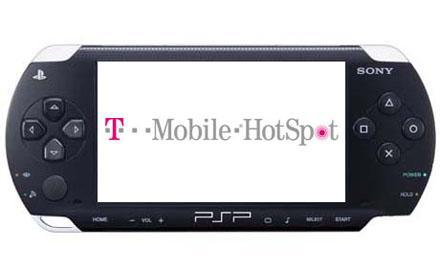 Latest PSP firmware update includes free T-Mobile WiFi, too