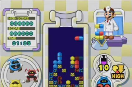 Wii Fanboy Review: Dr. Mario & Germ Buster