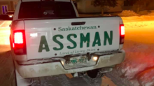 Man's innovative solution after being denied number plate