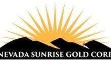 Nevada Sunrise Closes $630,000 Private Placement