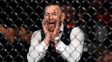 Conor McGregor storms cage, pushes referee at Bellator 187 after teammate's victory