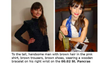 Blogger turns to social media to track down mystery stranger she had a moment with