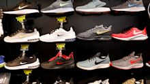 No tariff fears for Nike after online success