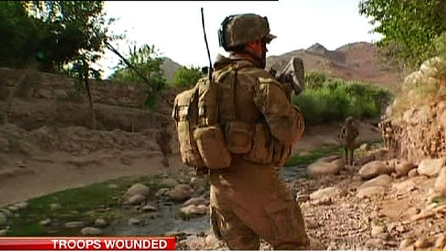 Aussie troops wounded in Afghanistan