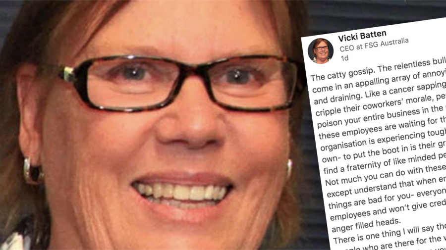 CEO's savage post unleashes on 'bullying, gossiping' employees