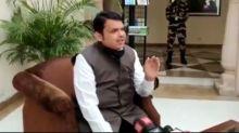 Devendra Fadnavis Says Corona is more Imp than kangana