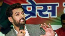 Chirag Paswan's LJP to go Solo in Bihar Amid Rift With Nitish Kumar, Promises Post-Poll Alliance with BJP