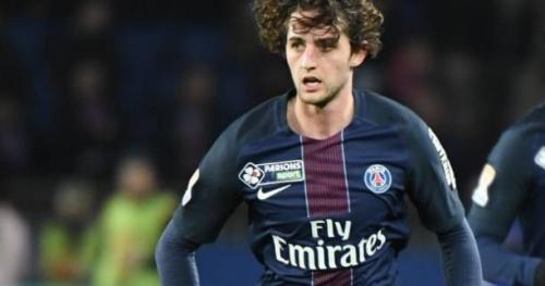Foot - Coupe - PSG - Adrien Rabiot a repris l'entraînement