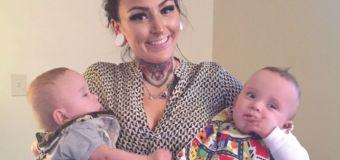 Hero mum dies saving twin sons in car crash
