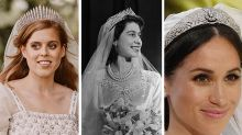 9 of the Most Stunning Royal Wedding Tiaras, From Princess Beatrice's to Meghan Markle's