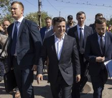 Ukraine's president says he backs prisoner swap with Russia
