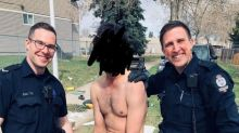 Edmonton police launch review after officer posts photo of drug arrest