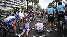 Tour de France verdict: Questions asked of officials after multiple crashes on 'ice rink' opening stage