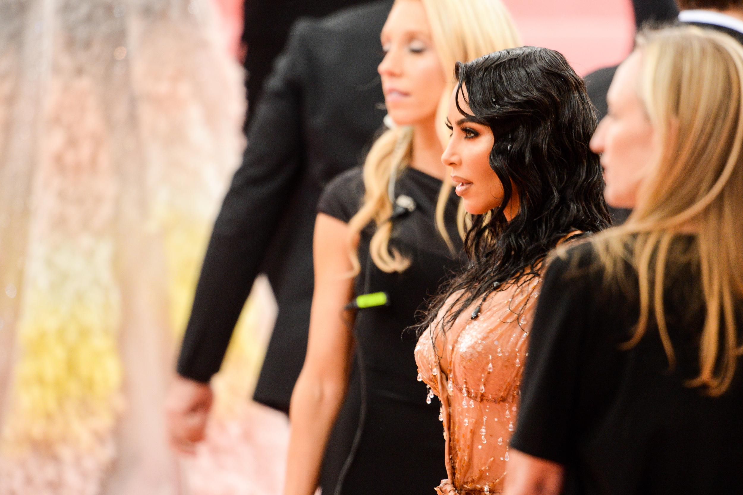 NEW YORK, NY - MAY 06:  Media personality Kim Kardashian attends The 2019 Met Gala Celebrating Camp: Notes on Fashion at Metropolitan Museum of Art on May 6, 2019 in New York City.  (Photo by Ray Tamarra/GC Images)