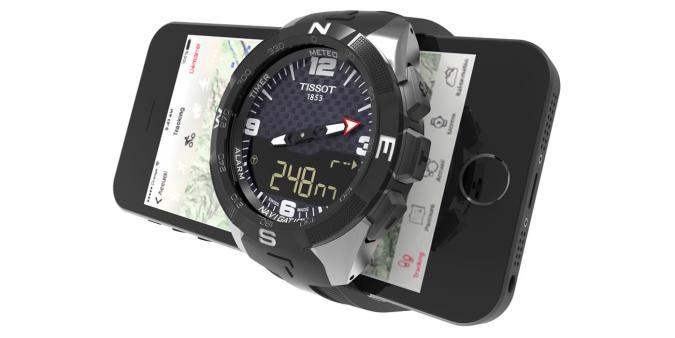Swatch's first proper smartwatch is a Tissot