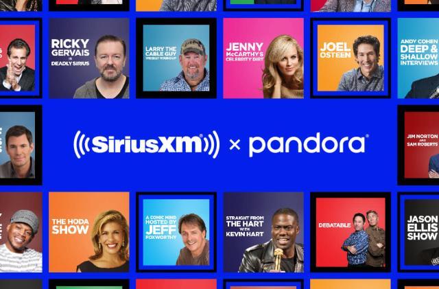 Pandora adds SiriusXM talk shows as podcasts