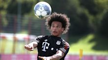 'Overjoyed' Sane completes first training session with Bayern