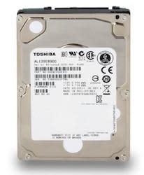 Toshiba's new 2.5-inch AL13SE hard drives: up to 900GB of 10,500RPM storage