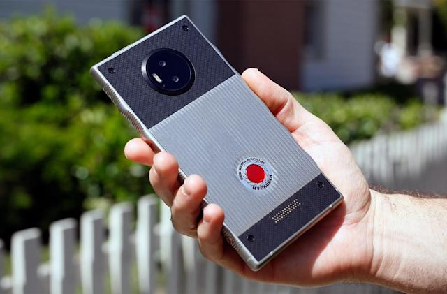 A closer look at RED's audacious Hydrogen One phone