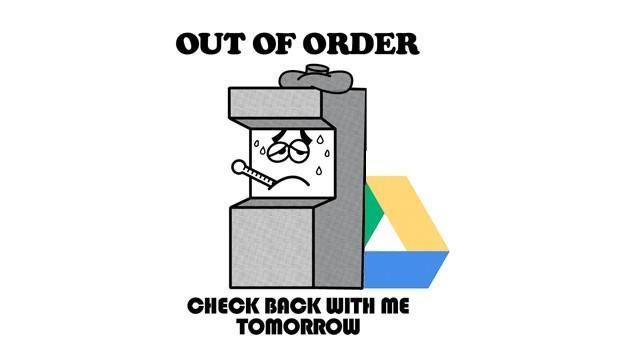 Google Drive suffering from service outage